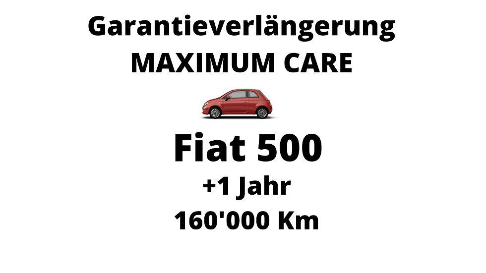 Fiat  500 Garantieverlängerung 1 Jahr 160'000 Km