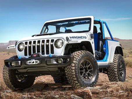 Jeep® und Jeep Performance Parts präsentieren die Konzeptfahrzeuge für die Oster-Jeep Safari