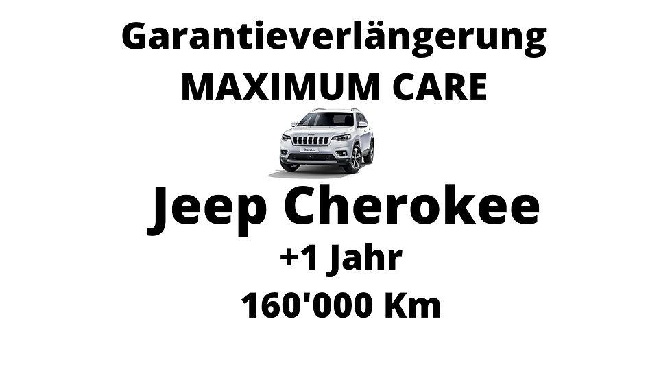 Jeep Cherokee Garantieverlängerung 1 Jahr 160'000 Km