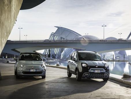 Fiat 500 und Fiat Panda erzielen 2020 historischen Rekordmarktanteil in Europa