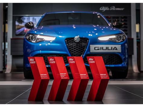 Vier Auszeichnungen - Alfa Romeo Giulia gewinnt bei der Verleihung des SPORT AUTO AWARD 2020