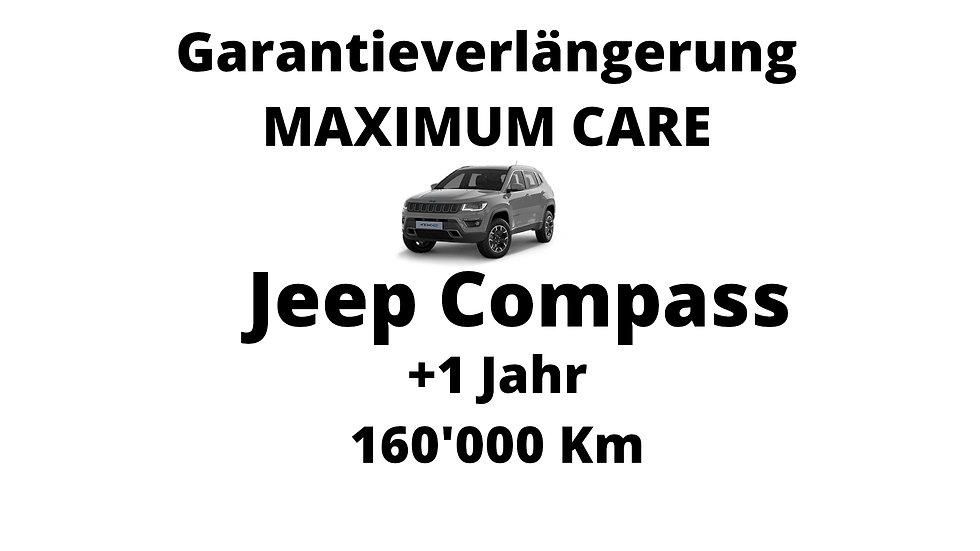Jeep Compass Garantieverlängerung 1 Jahr 160'000 Km
