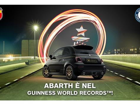Abarth erzielt einen Guinness World Record™.