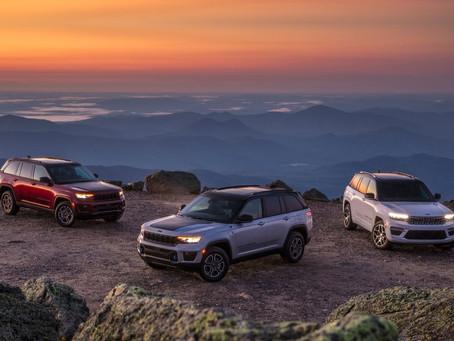 Der brandneue Jeep® Grand Cherokee 2022: