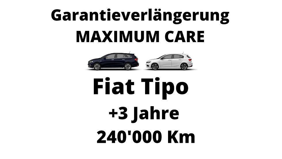 Fiat Tipo Garantieverlängerung 3 Jahre 240'000 Km