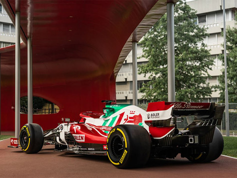 Alfa Romeo zeigt beim Großen Preis von Monza die italienische Flagge
