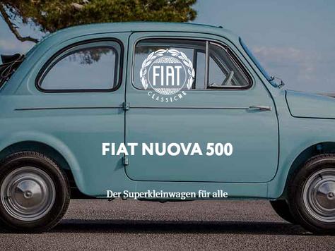 FIAT NUOVA 500 - Der Superkleinwagen für alle