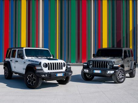 Der neue Jeep® Wrangler 4xe: das Beste des 4x4 wird elektrisch und kommt überall hin