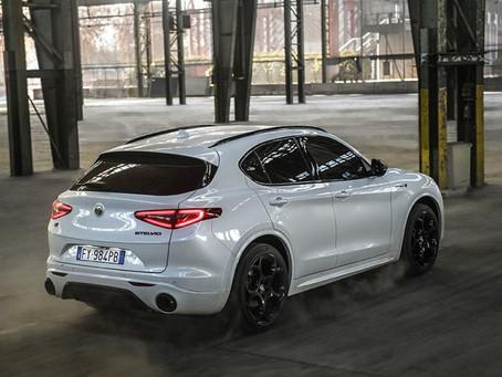 Alfa Romeo stellt das Modelljahr 21 vor und präsentiert den neuen Stelvio Veloce Ti