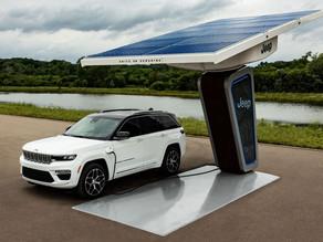 Jeep® enthüllt erste Bilder des brandneuen elektrifizierten Jeep Grand Cherokee 4xe 2022