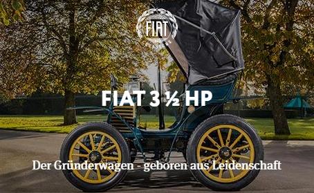 Fiat 3 1/2HP - Der Gründerwagen - geboren aus Leidenschaft