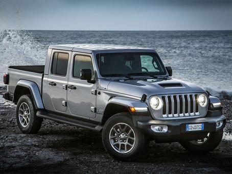 Der neue Jeep® Gladiator, der innovative Pickup, der Tradition und Zukunft verbindet