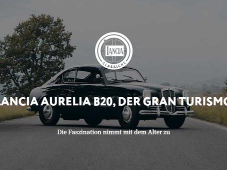LANCIA AURELIA B20, DER GRAN TURISMO Die Faszination nimmt mit dem Alter zu