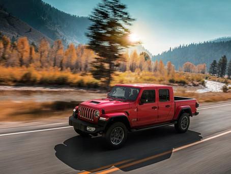 Jetzt bestellbar: Jeep Gladiator, der Pickup mit den legendären Jeep-Fähigkeiten