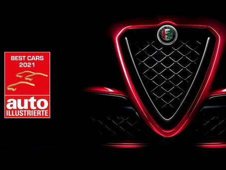 Alfa Romeo zur Lieblingsautomarke der Schweizer gewählt