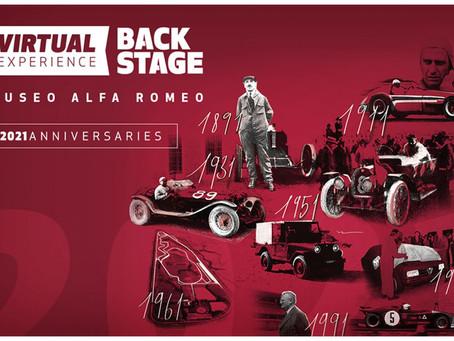 Ein Kalender, der der Geschichte von Alfa Romeo gewidmet ist