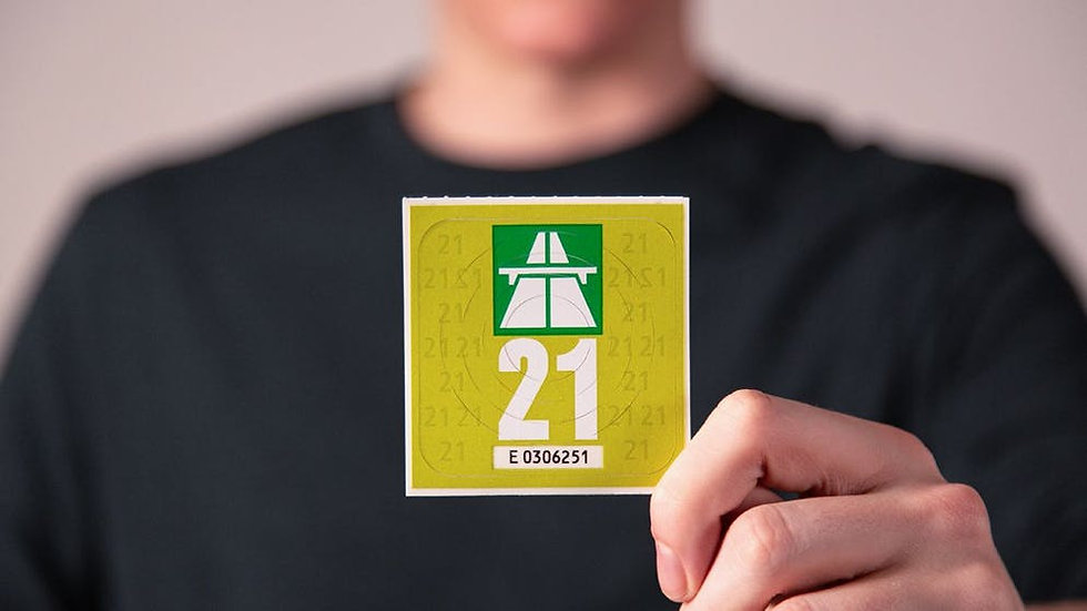 Autobahnvignette 2021
