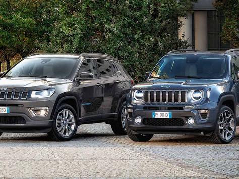 """Jeep Renegade und Compass 4xe """"First Edition"""": Die neuen Plug-in Hybrid-Modelle jetzt entdecken"""