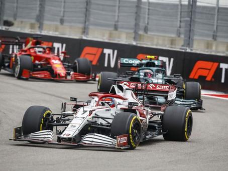 2021 FIA Formel Eins Großer Preis von Russland - Rennen - Sonntag