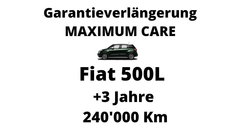 Fiat 500L Garantieverlängerung 3 Jahre 240'000 Km