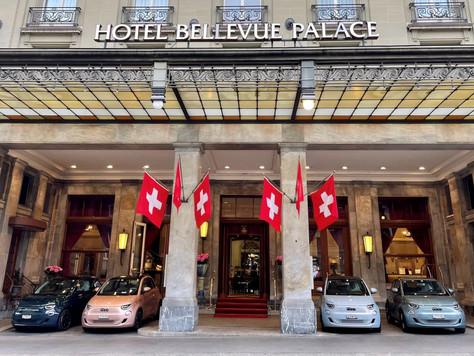 Präsentation der gesamten Modellpalette des neuen Fiat 500 im Bellevue Palace in Bern