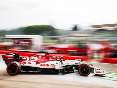 Grand Prix 2020 FIA Formel 1 Emilia Romagna - Rennen - Sonntag