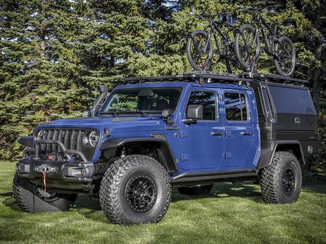 Mopar® stellt auf der SEMA360 das Konzept des Jeep® Gladiator-Top Dog vor