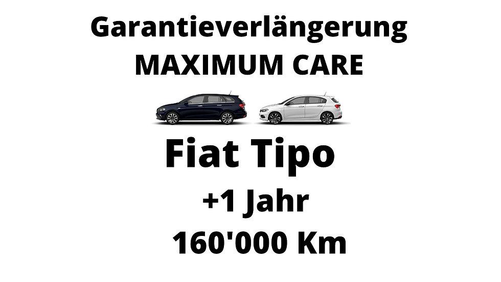 Fiat Tipo Garantieverlängerung 1 Jahr 160'000 Km