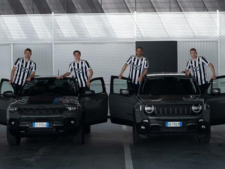 Juventus geht mit der Jeep® 4xe-Technologie in eine elektrisierende Saison