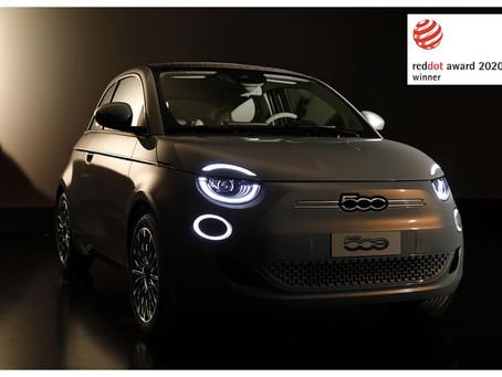 """Fiat 500 gewinnt den """"Red Dot Award 2020"""""""