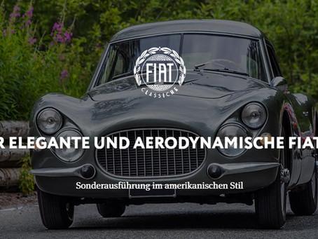 DER ELEGANTE UND AERODYNAMISCHE FIAT 8VSonderausführung im amerikanischen Stil