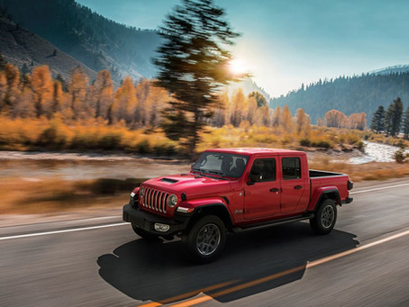 Bestellen Sie den neuen Gladiator, den Pickup mit den legendären Jeep® 4x4-Fähigkeiten
