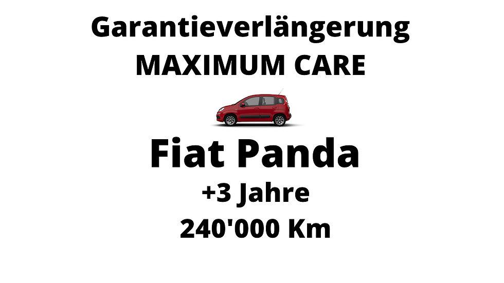 Fiat Panda Garantieverlängerung 3 Jahre 240'000 Km
