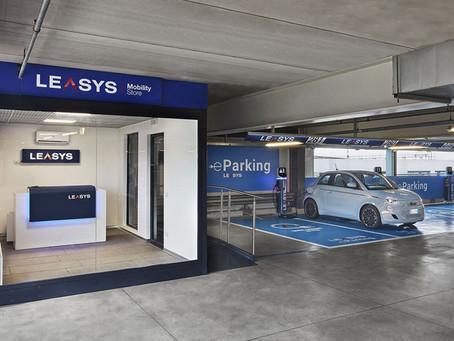 Nachhaltige Mobilität landet in Mailand: Leasys EV-Schnellladestationen in den Flughäfen Mailands
