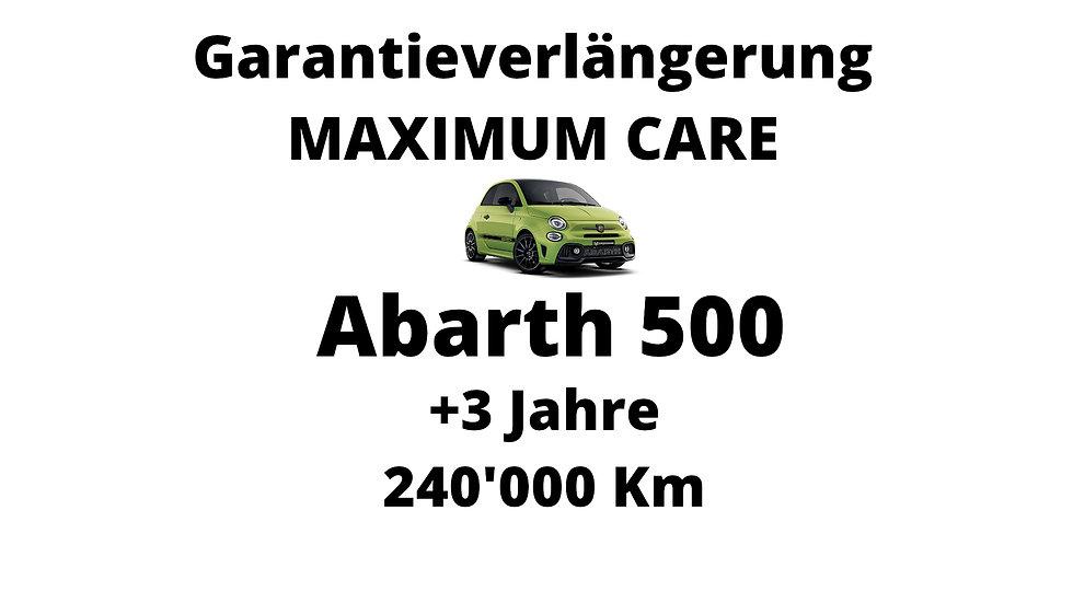 Abarth 500 Garantieverlängerung 3 Jahre 240'000 Km