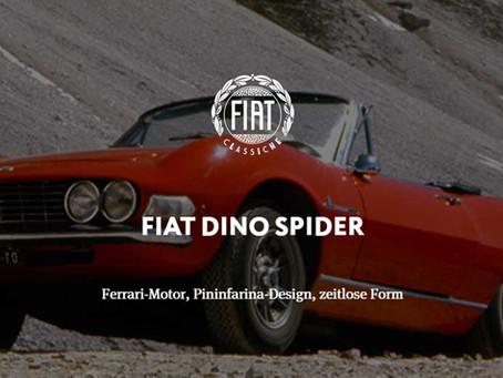 FIAT DINO SPIDER - Ferrari-Motor, Pininfarina-Design, zeitlose Form