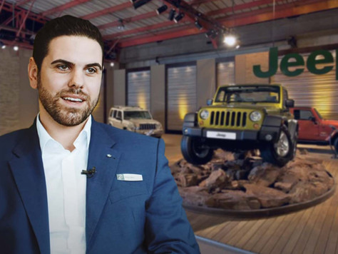 Eine echte Leidenschaft für Autos, Marco Mele neuer Jeep-Verkaufsberater