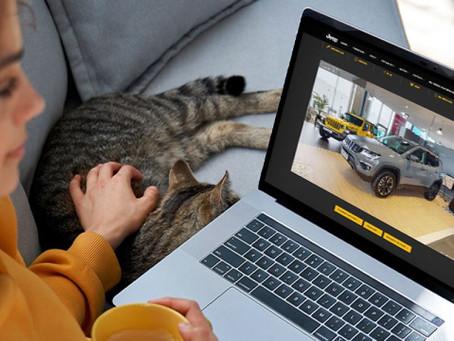 Autobesichtigung im virtuellen Showroom - Jeep