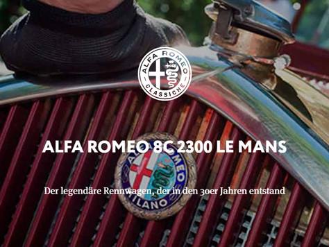 ALFA ROMEO 8C 2300 LE MANS - Der legendäre Rennwagen, der in den 30er Jahren entstand