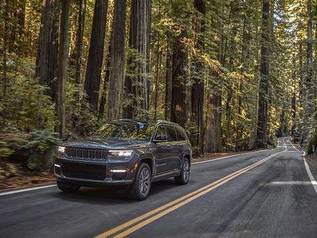 Der neue Jeep® Grand Cherokee 2021 betritt Neuland im Segment der Full-Size-SUV