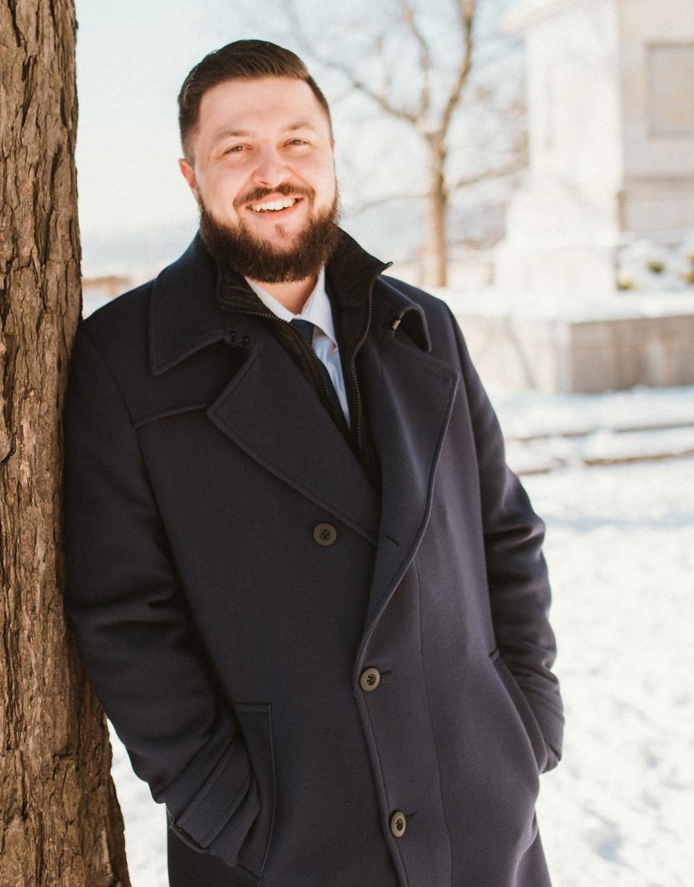 Antoine Bath e-minent founder photoshoot made in Brno