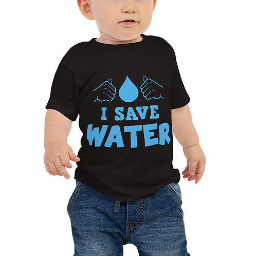 I Save Water Baby Tee