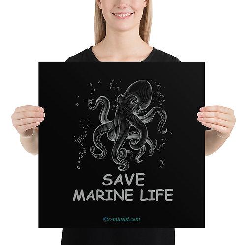 05 Save Marine Life  Poster - Save Water life