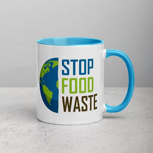 Stop food waste planet Color Mug - Stop food waste Collection 06