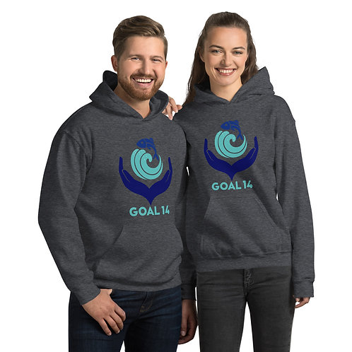 04 Goal 14 Hoodie for Women & Men - Save Water Life