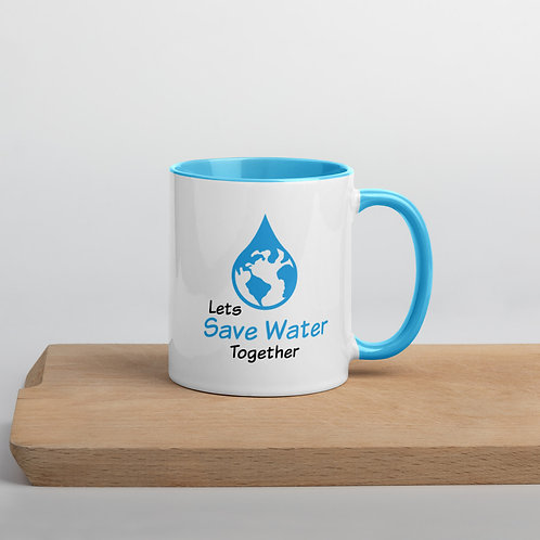 Let's Save Water Together Mug - Save Water Collection