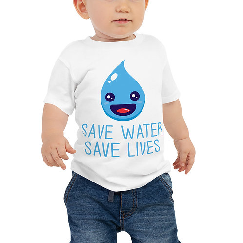 Save Water Save Lives Baby Tee