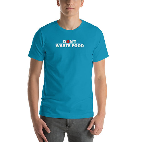 Don't waste food Tshirt - Zero Waste collection 04