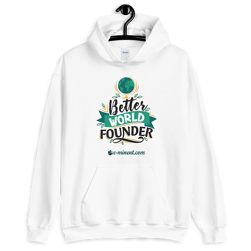 01 Better World Founder Hoodie - Exclusive Collection