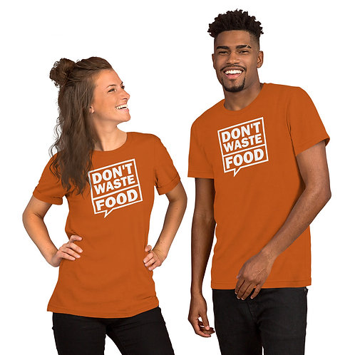 Don't waste food bubble Hoodie - Zero Waste collection 09